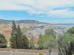 Vista su Cannes dalla città vecchia