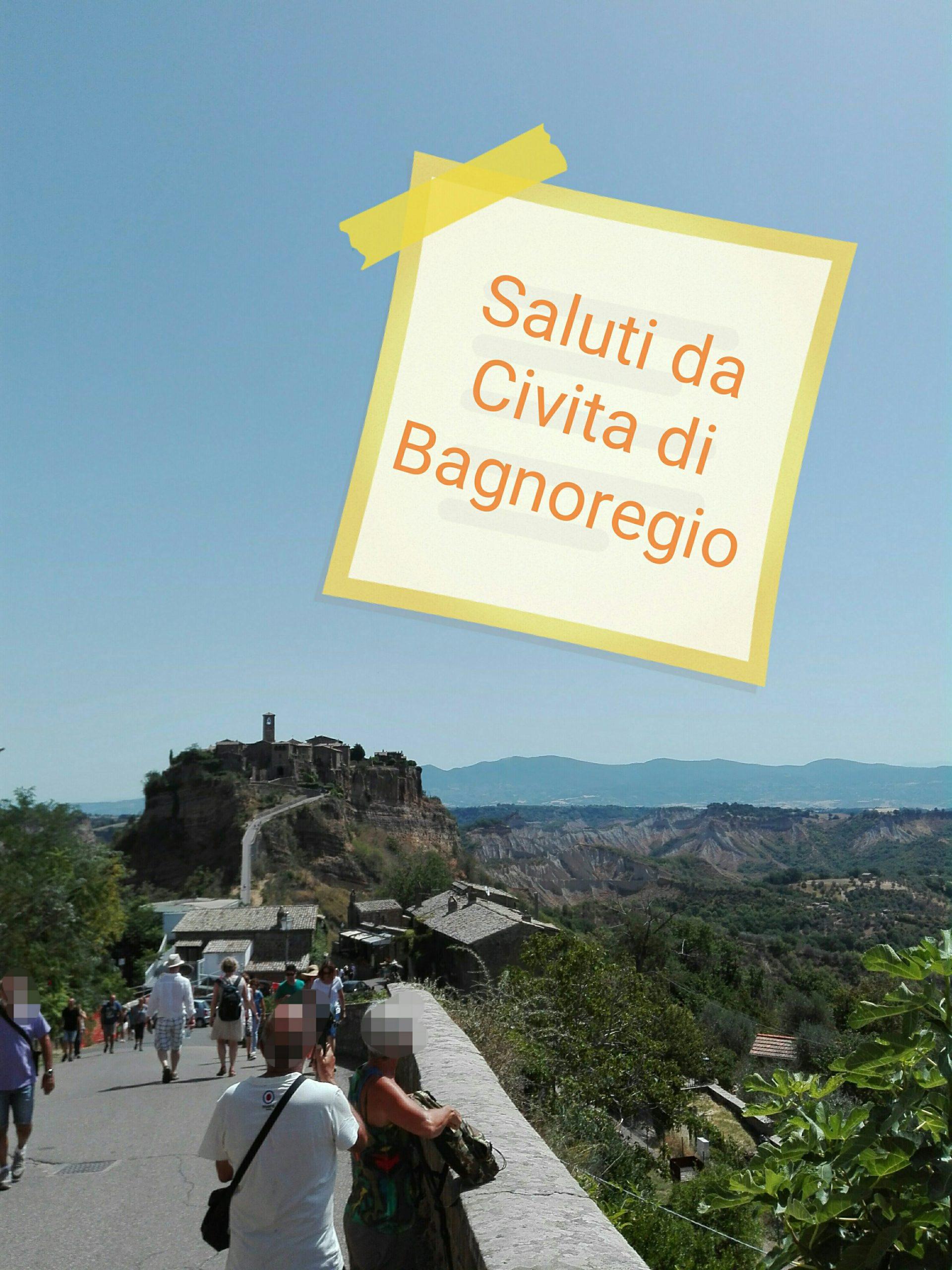 #CartolineDalMondo: Saluti da Civita di Bagnoregio