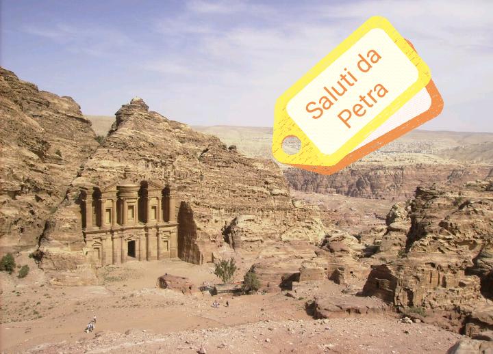 #CartolineDalMondo: Saluti da Petra