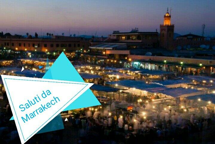 #CartolineDalMondo: saluti da Marrakech