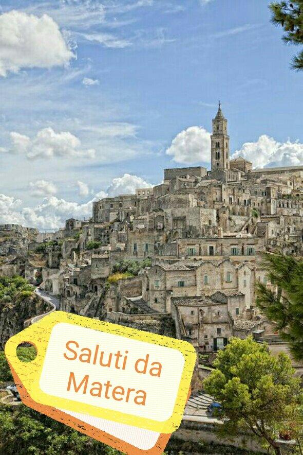#CartolineDalMondo: saluti da Matera