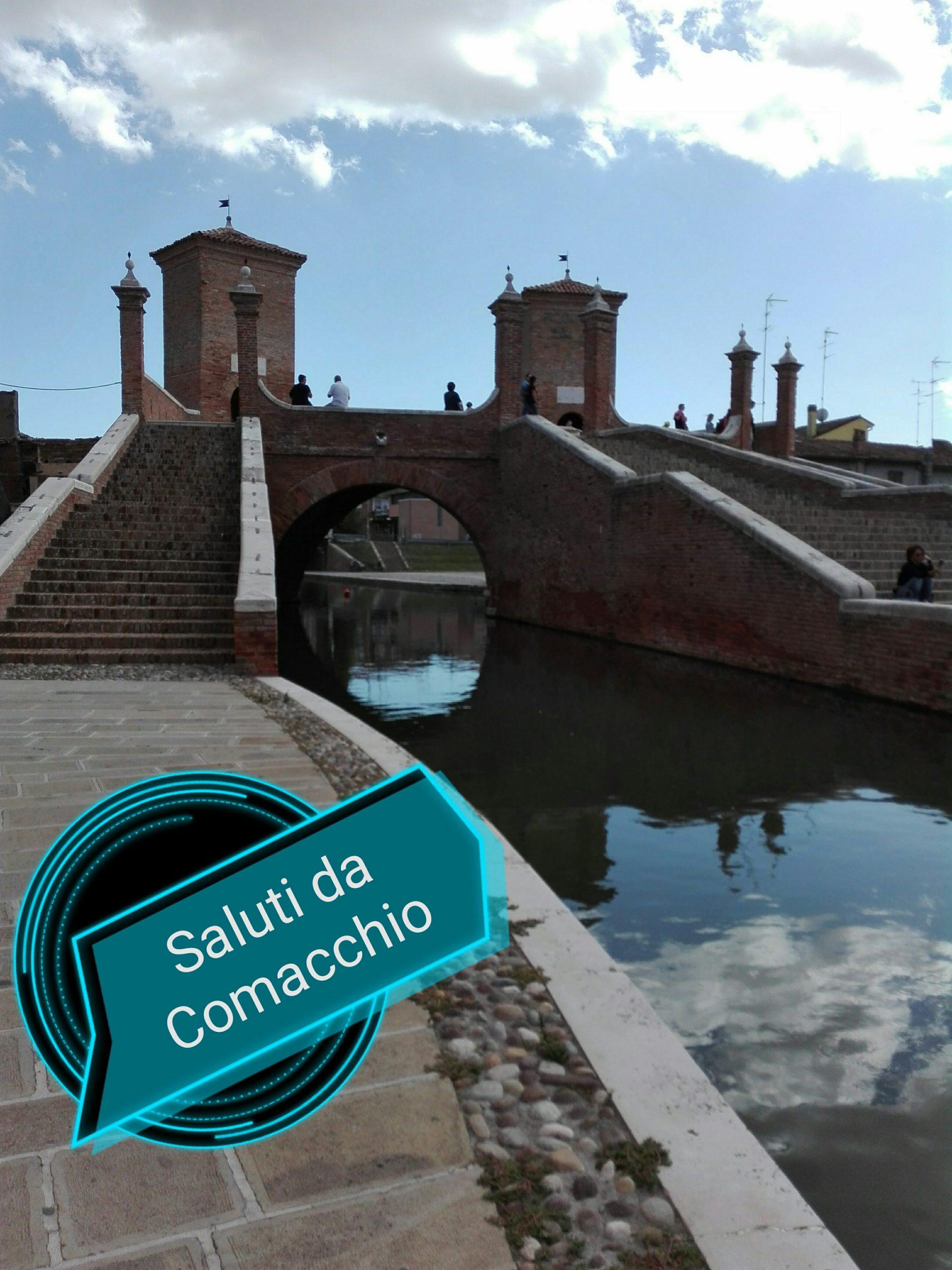 #CartolineDalMondo: saluti da Comacchio