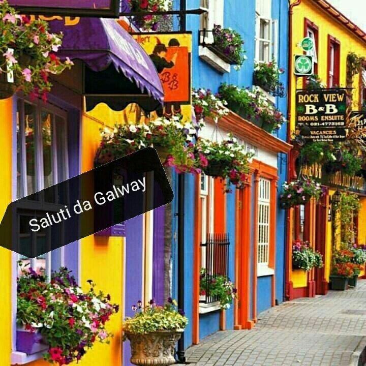 #CartolineDalMondo: saluti da Galway