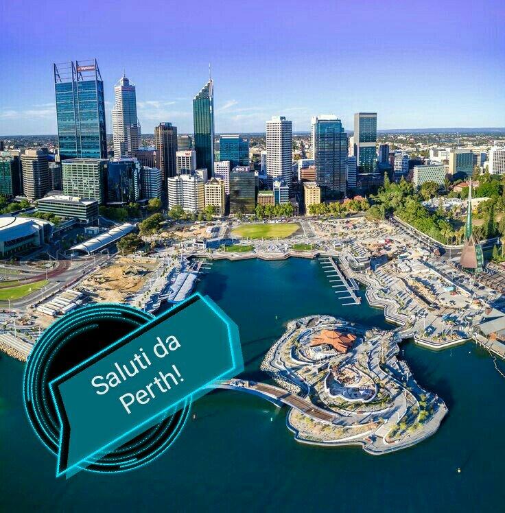 #CartolineDalMondo: saluti da Perth