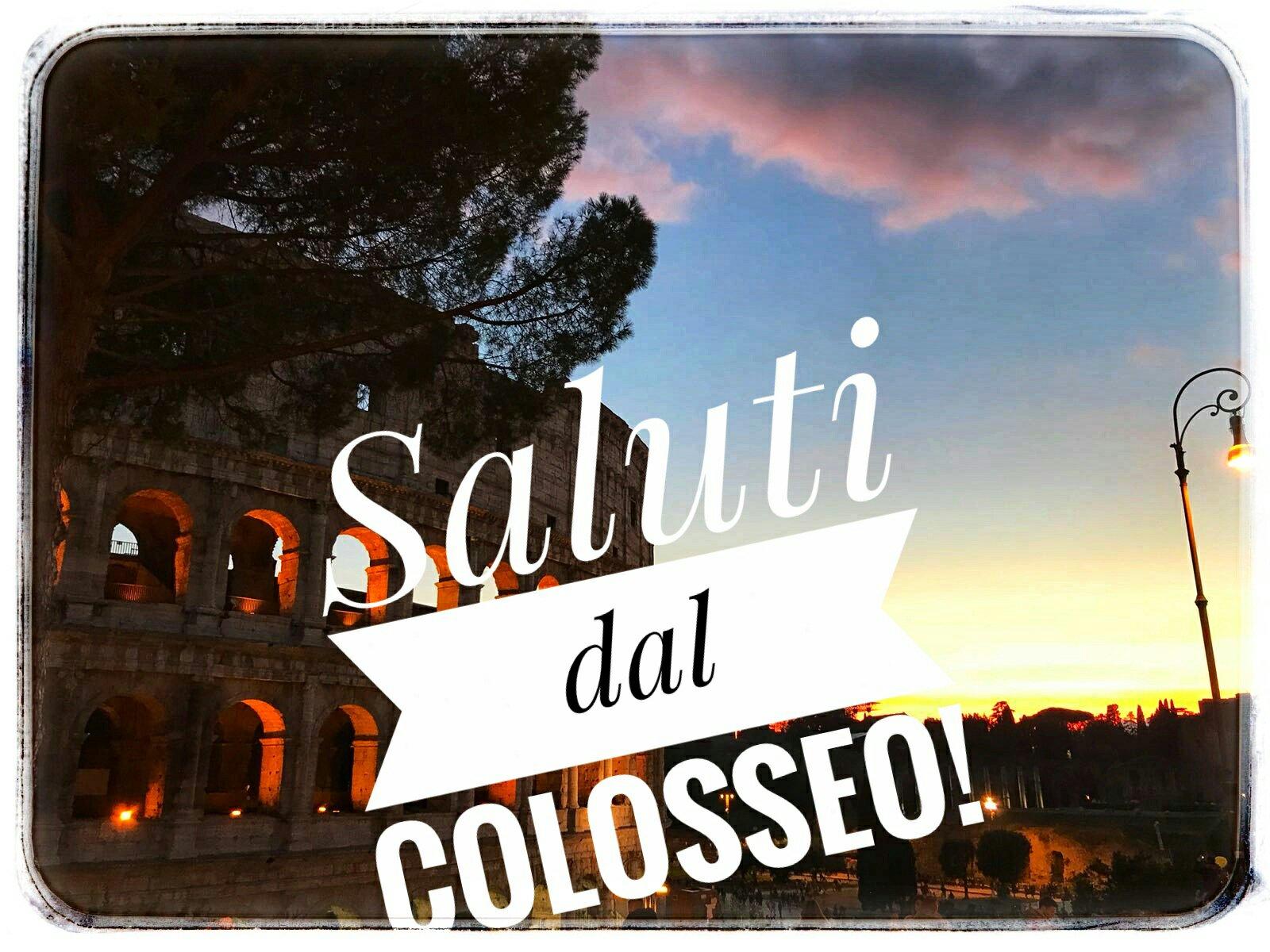 #CartolineDalMondo: saluti dal Colosseo