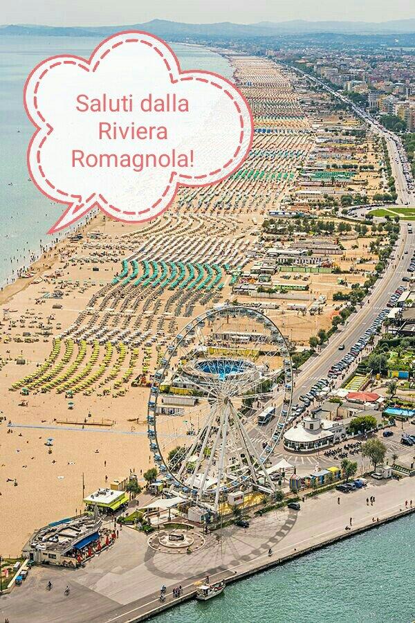 #CartolineDalMondo: saluti dalla Riviera Romagnola
