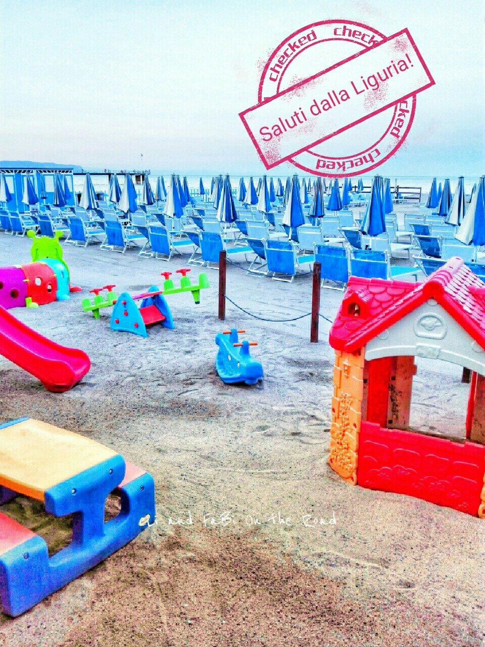 #CartolineDalMondo speciale estate: saluti dalla Liguria