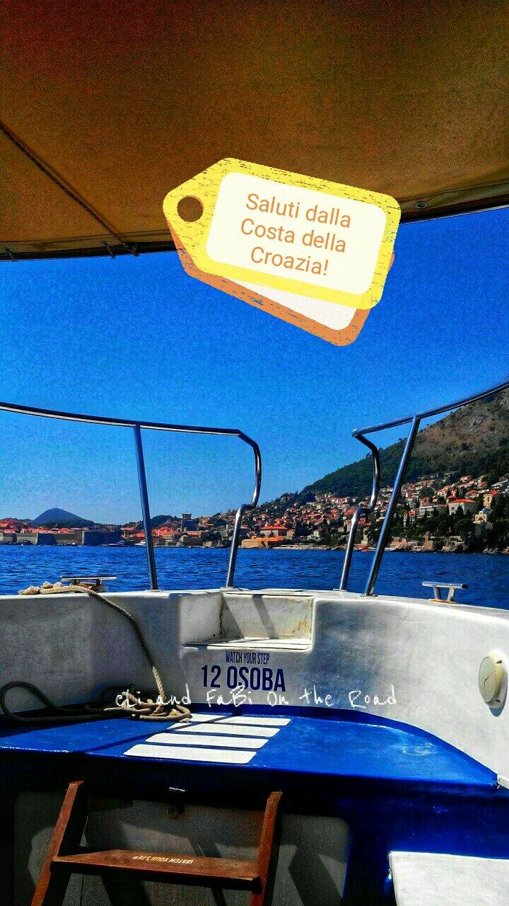 #CartolineDalMondo speciale estate: saluti dalla costa della Croazia