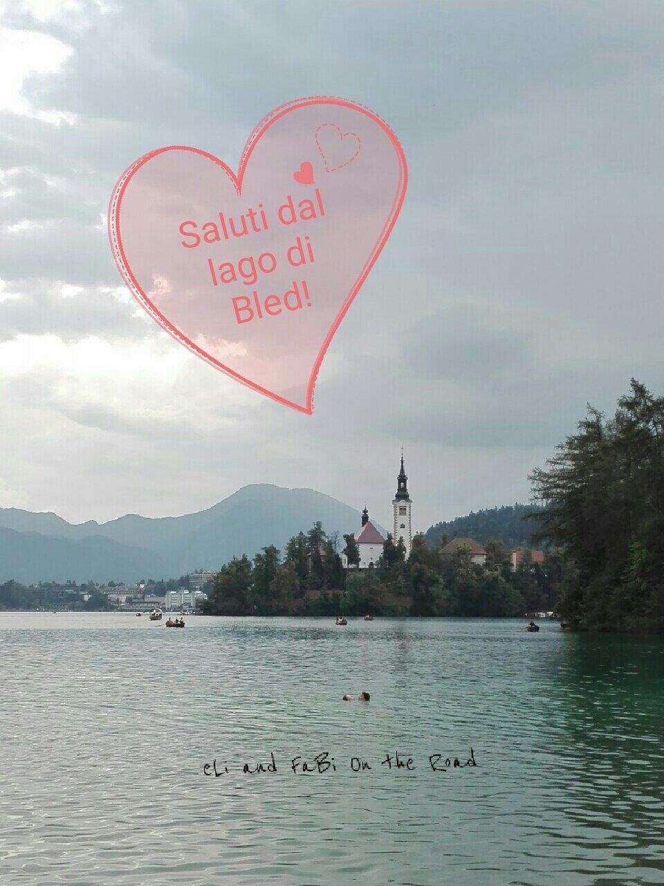 #CartolineDalMondo speciale settimana di Ferragosto: saluti dal Lago di Bled