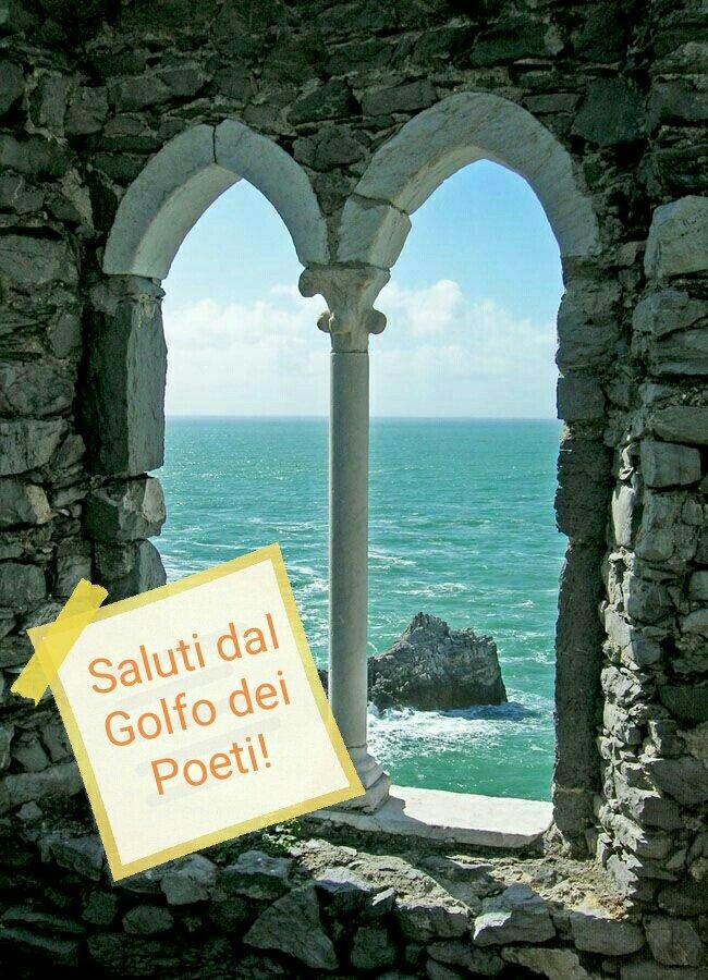 #CartolineDalMondo speciale estate: saluti dal Golfo dei Poeti