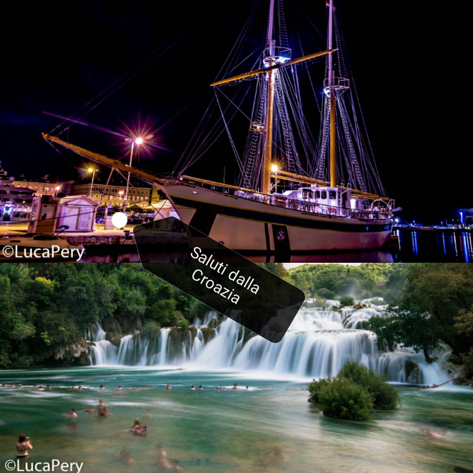 #CartolineDalMondo: saluti da Rijeka e dal parco di Krka