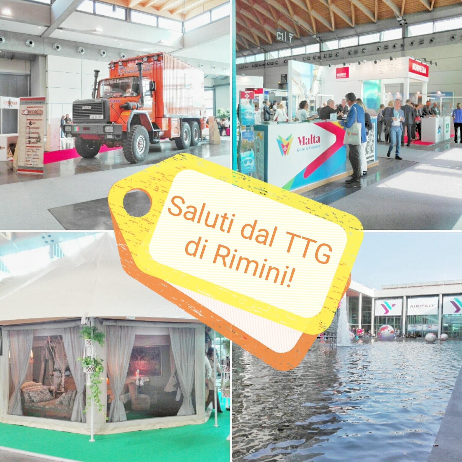 #CartolineDalMondo: saluti dal TTG di Rimini