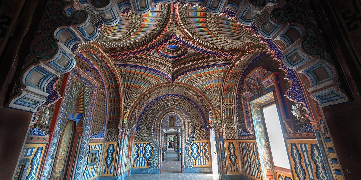 #CartolineDalMondo: Saluti dal Castello di Sammezzano