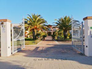 Entrata Hotel Santa Gilla Capoterra