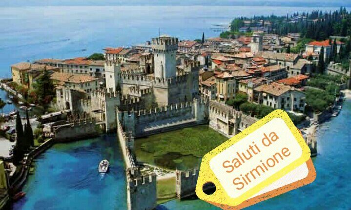 #CartolineDalMondo: Saluti da Sirmione
