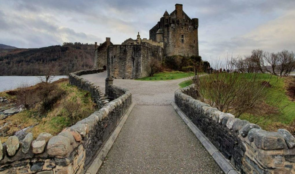 Elaine Donan Castle -Scozia